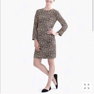 J. Crew Leopard Dress 🌼